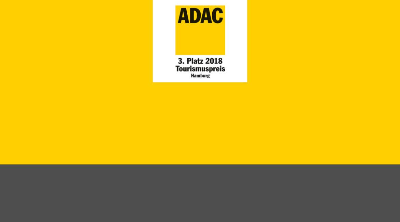 3. PLATZ BEIM ADAC-TOURISMUSPREIS HAMBURG