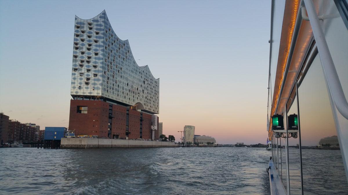 Abendfahrt Elbphilharmonie